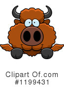 Winged Buffalo Clipart #1199431