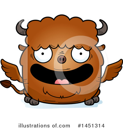 Buffalo Clipart #1451314 by Cory Thoman