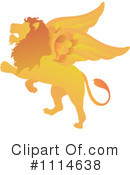 Winged Lion Clipart #1114638 by Pams Clipart