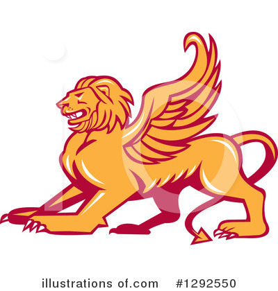 Lion Clipart #1292550 by patrimonio