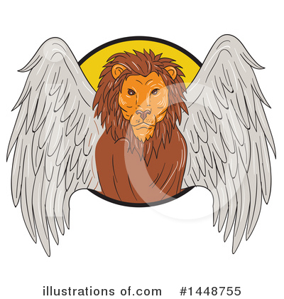 Lion Clipart #1448755 by patrimonio