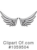 Wings Clipart #1059504 by Any Vector