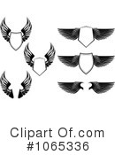 Wings Clipart #1065336 by Vector Tradition SM
