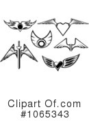 Wings Clipart #1065343 by Vector Tradition SM