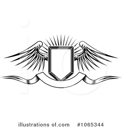 Royalty free rf wings clipart illustration by seamartini graphics