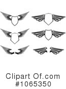 Wings Clipart #1065350 by Vector Tradition SM
