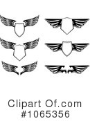 Wings Clipart #1065356 by Vector Tradition SM