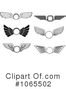 Wings Clipart #1065502 by Vector Tradition SM