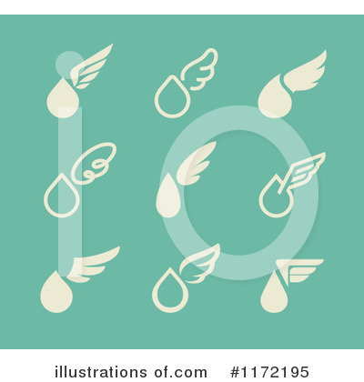 Wing Logo Clipart #1172195 by elena