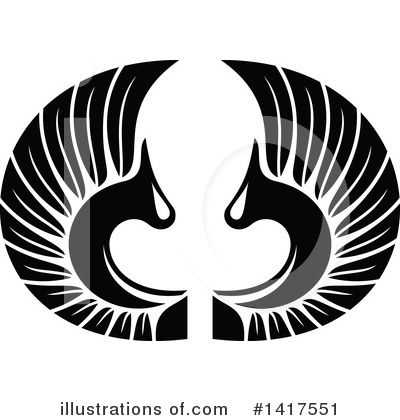 Wings Clipart #1417551 by Vector Tradition SM