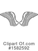 Wings Clipart #1582592 by Vector Tradition SM