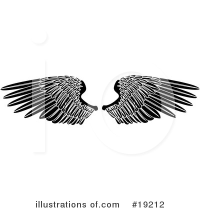 Guardian Angel Clipart #19212 by AtStockIllustration