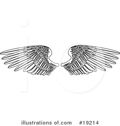 Guardian Angel Clipart #19214 by AtStockIllustration