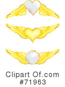 Wings Clipart #71963 by inkgraphics