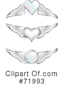 Wings Clipart #71993 by inkgraphics