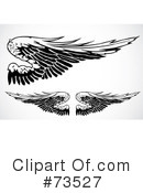 Wings Clipart #73527 by BestVector