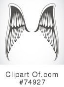 Wings Clipart #74927 by BestVector