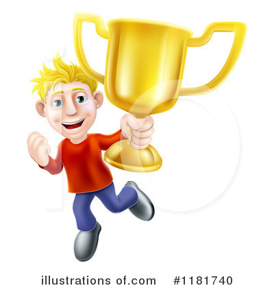 Winner Clipart #1181740 by AtStockIllustration