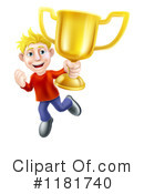 Royalty-Free (RF) Winner Clipart Illustration #1181740