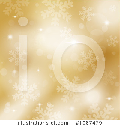 Royalty-Free (RF) Winter Background Clipart Illustration by KJ Pargeter - Stock Sample #1087479