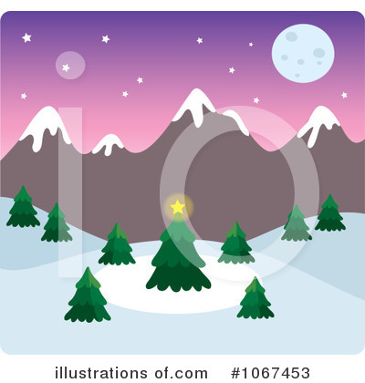 Christmas Tree Clipart #1067453 by Rosie Piter