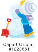 Winter Clipart #1223661 by Alex Bannykh