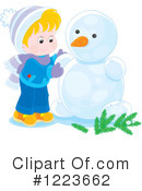 Winter Clipart #1223662 by Alex Bannykh