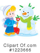 Winter Clipart #1223666 by Alex Bannykh