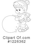 Winter Clipart #1226362 by Alex Bannykh
