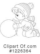 Winter Clipart #1226364 by Alex Bannykh