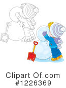 Winter Clipart #1226369 by Alex Bannykh