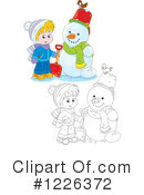 Winter Clipart #1226372 by Alex Bannykh