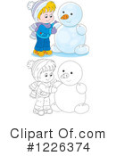 Winter Clipart #1226374 by Alex Bannykh