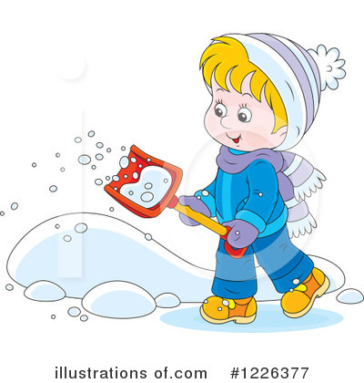 Winter Clipart #1226377 by Alex Bannykh