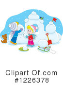 Winter Clipart #1226378 by Alex Bannykh