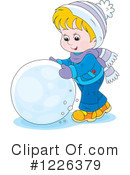 Winter Clipart #1226379 by Alex Bannykh