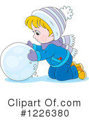 Winter Clipart #1226380 by Alex Bannykh