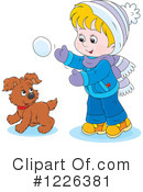 Winter Clipart #1226381 by Alex Bannykh