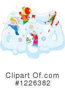 Winter Clipart #1226382 by Alex Bannykh