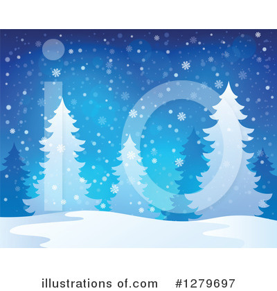 Snow Clipart #1279697 by visekart