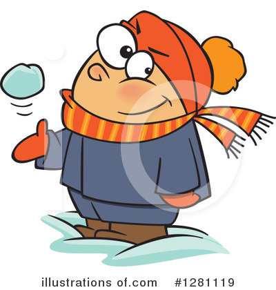 Snowball Clipart #1281119 by toonaday
