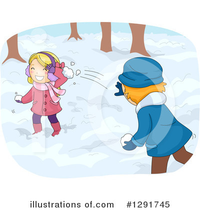Snowball Clipart #1291745 by BNP Design Studio