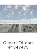 Winter Clipart #1347473 by KJ Pargeter