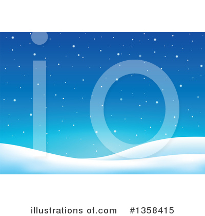 Snow Clipart #1358415 by visekart