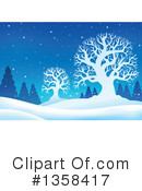 Winter Clipart #1358417 by visekart