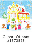 Winter Clipart #1373898 by Alex Bannykh