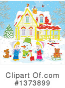 Winter Clipart #1373899 by Alex Bannykh