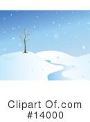 Royalty-Free (RF) Winter Clipart Illustration #14000