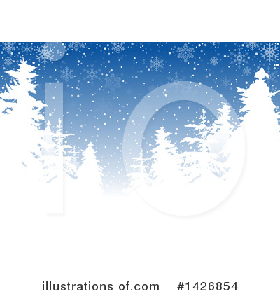 Christmas Background Clipart #1426854 by dero