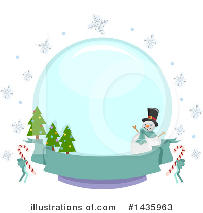 Snowflakes Clipart #1435963 by BNP Design Studio